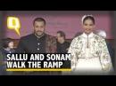 Salman Khan and Sonam Kapoor Walk the Ramp to Promote Khadi