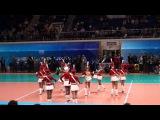 Yeltsin Cup 2014. Барабанщицы и оркестр А.Павлова