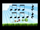 Angry Birds Lectura rítmica