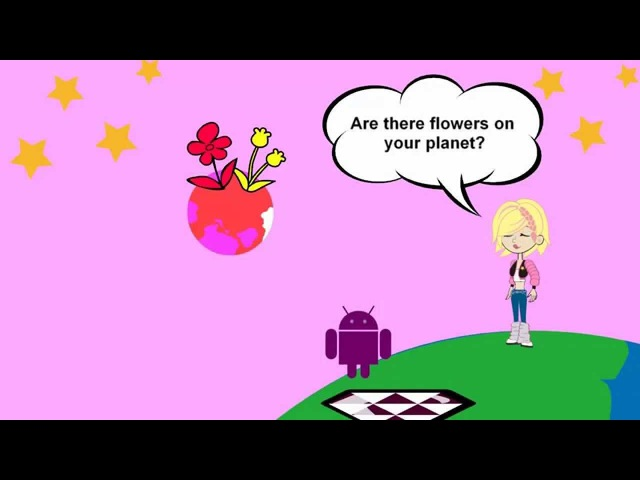 My English (for children) Lesson 27 : Is there/Are there...on your planet?