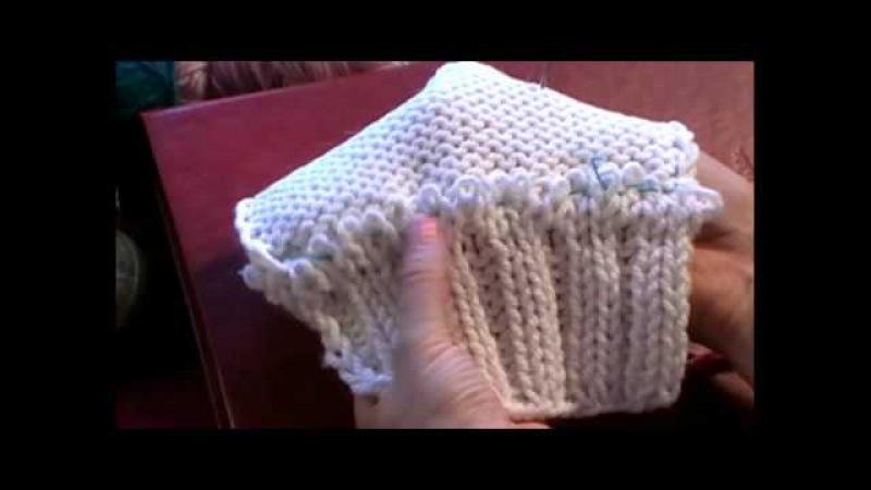 6-1 Трикотажные швы. Трикотажный кеттельный шов иглой. Как пришить воротник knitting