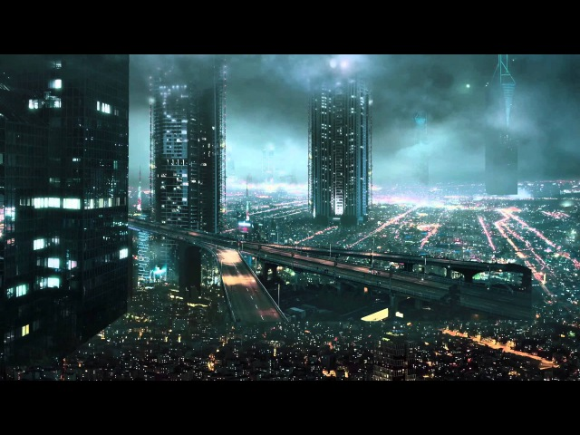 CGI VFX Breakdowns : A Futuristic City by Marco Iozzi
