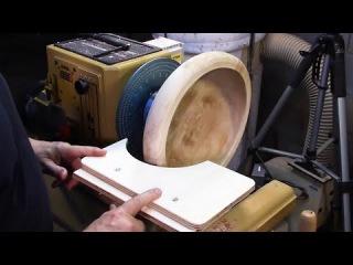 Самодельное приспособление из фанеры для токарного станка по дереву изготовленое своими руками