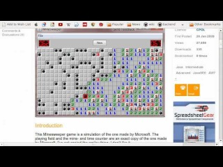 Writing MineSweeper in 10 minutes