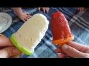 Как сделать мороженое в домашних условиях Творожное и фруктовое how to make ice cream Поддубные