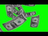 Футаж падающие деньги