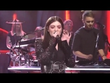 Disclosure - Magnets (feat. Lorde) Live Saturday Night Live 14.11.2015