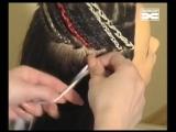 Африканские косички техника плетения афрокосичек