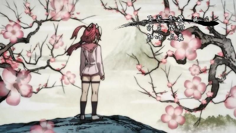 Сад тысячи цветов: Девушки-самураи ( Версия 2 ) [ Опенинг ] | Hyakka Ryouran Samurai Girls ( Version 2 ) [ Opening ]