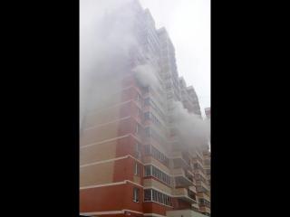 Пожар в Октябрьском городке 2