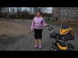 Fitness with a pram. Active stretching. Фитнес с коляской. Активная растяжка.