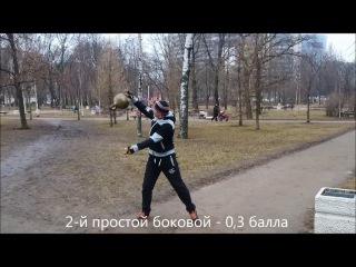 Силовое жонглирование гирей для начинающих. Леонид Синцов.