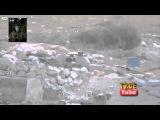 СИРИЯ Удивительные кадры гибели террориста от выстрела БМП