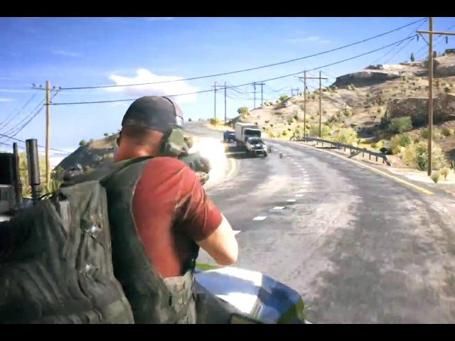 Ghost Recon: Wildlands — Русский трейлер E3 2015 (HD) Открытый мир!
