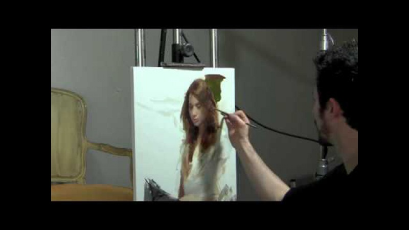 Casey Baugh Demo at Scottsdale Artists School