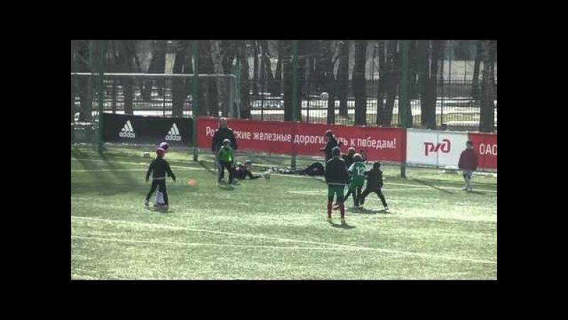 Локомотив 2(2005) - Сокол (1-й состав 1-й тайм)