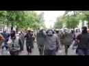 Одесса 2 мая 2014 года. Мирные демонстранты идут на шашлык