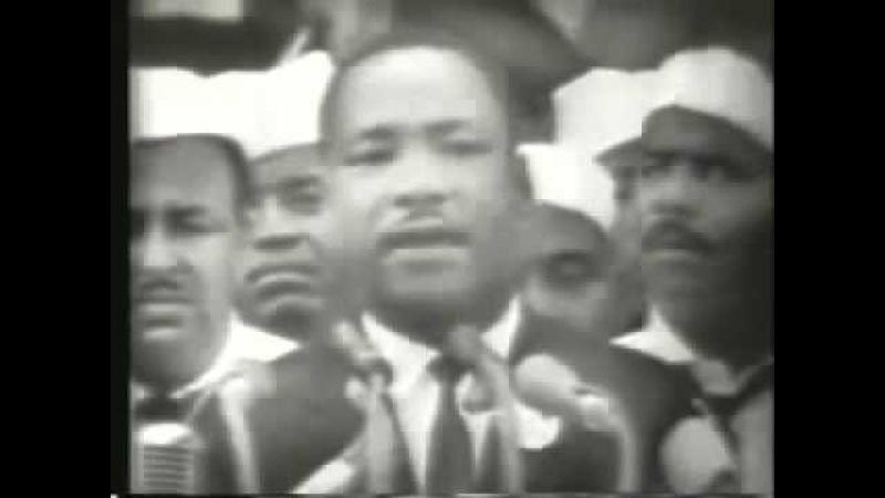 Мартин Лютер Кинг У меня есть мечта (полностью)