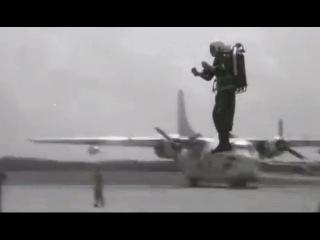 Bell Rocket Belt Flying Demonstrations, 1961 US Army; JQ Music