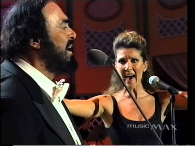 Luciano Pavarotti Celine Dion - I Hate You Then I Love You