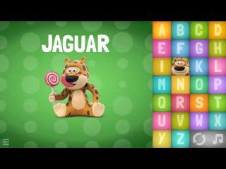 Говорящая азбука на английском языке. Talking ABC. Развивающие мультики для детей 3-6 лет