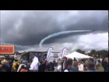 Moment Stunt Plane Crashes at Cheshire Car Festival, UK - CarFest in Oulton Park  || VIDEO