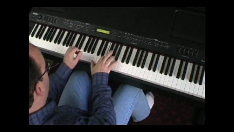 Moanin' -- jazz piano