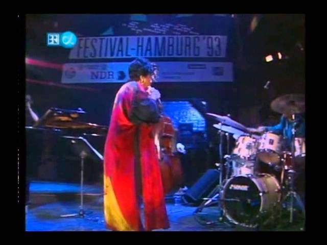 Betty Carter Live at The Hamburg Jazz Festival 1993. (Full Concert)