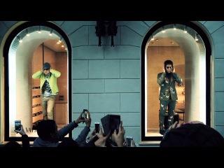 ZOOLANDER 2 - Derek e Hansel in vetrina da Valentino a Roma