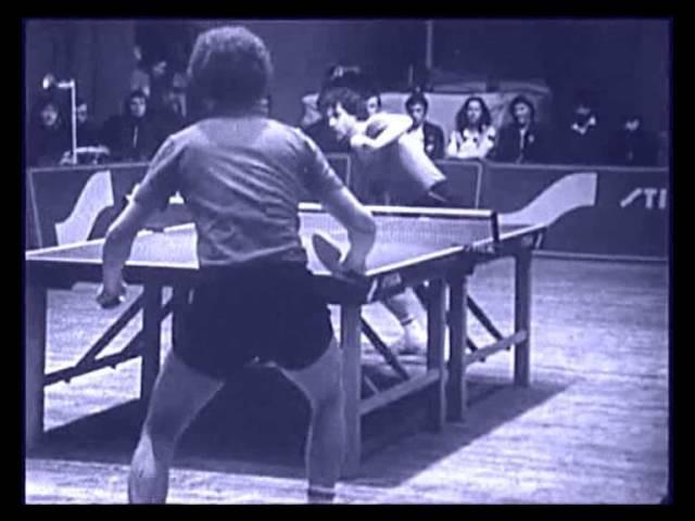 Table Tennis 1981-1984 Janos Takacs, Gabor Gargely, Igor Solopov, Ulf Tickan Carlsson