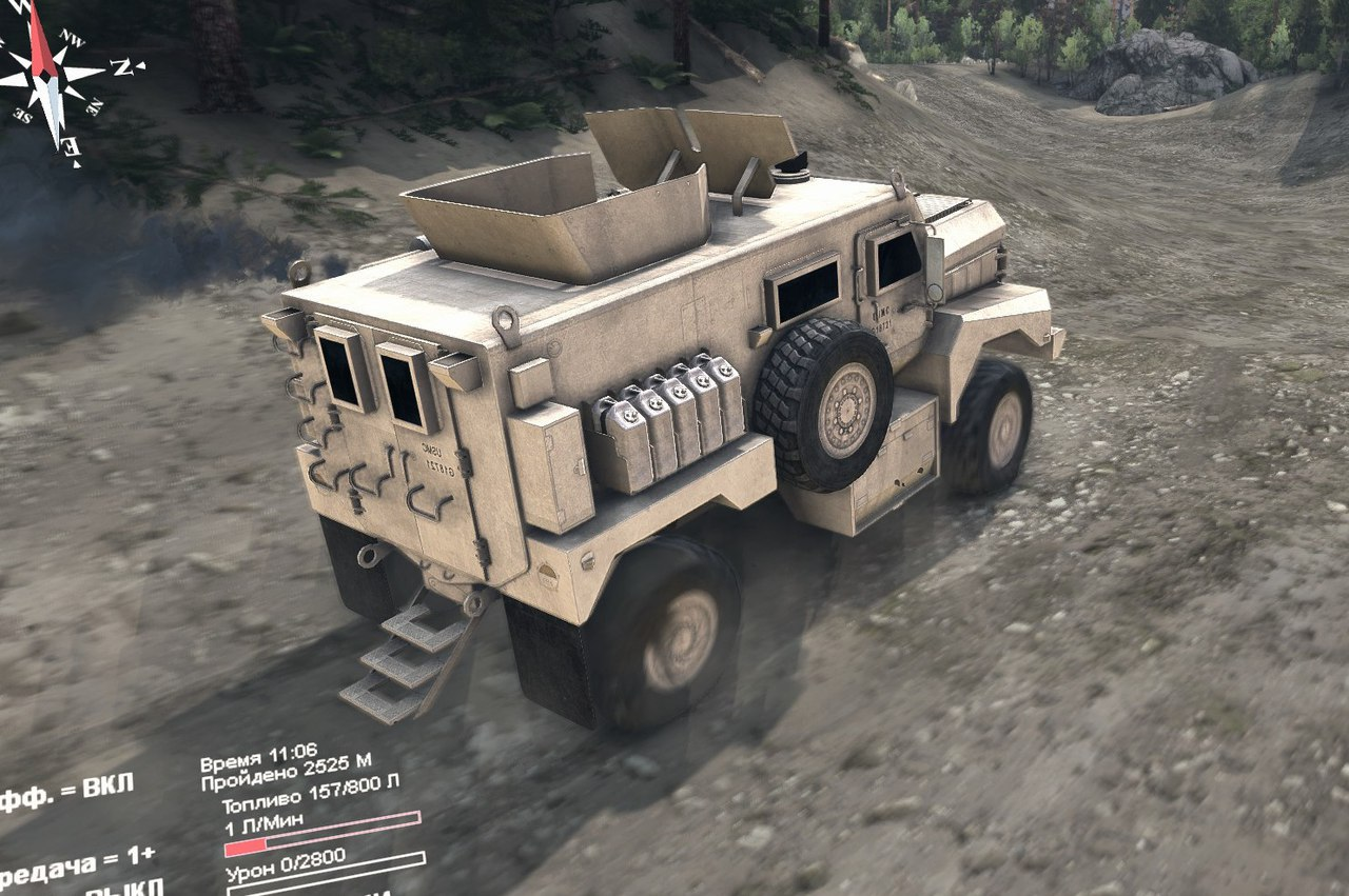 Cougar & Destroyed Cougar. для Spintires - Скриншот 3