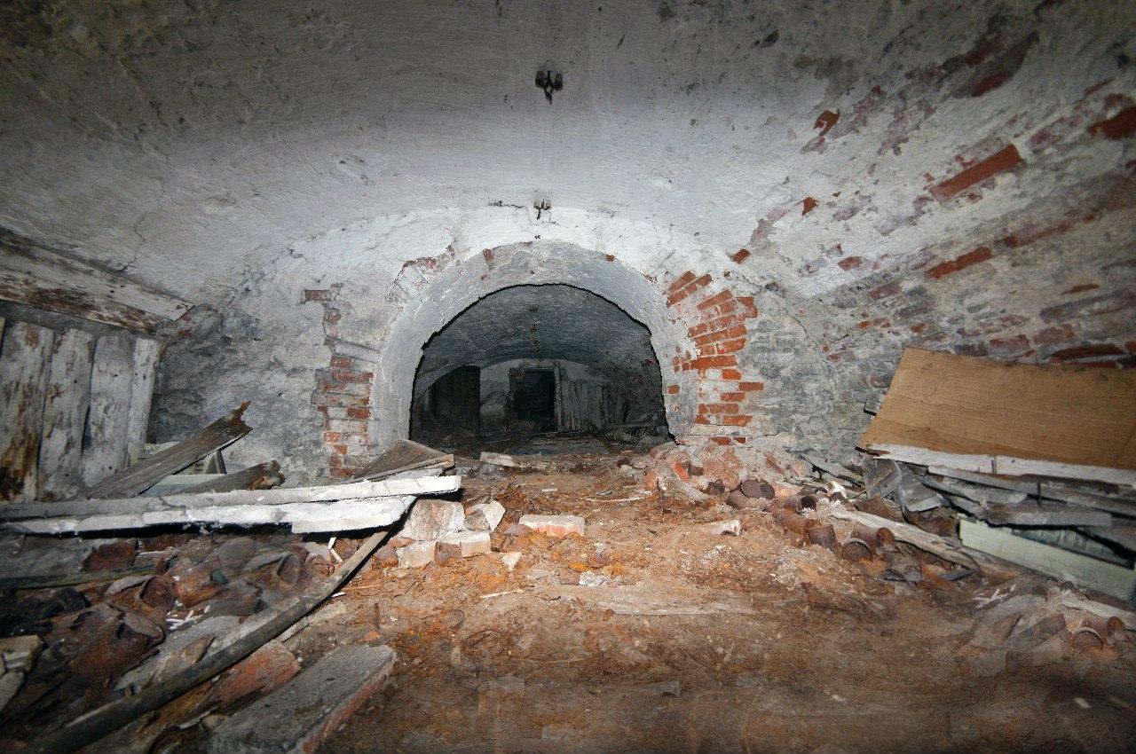 Старинные подвалы купеческих домов