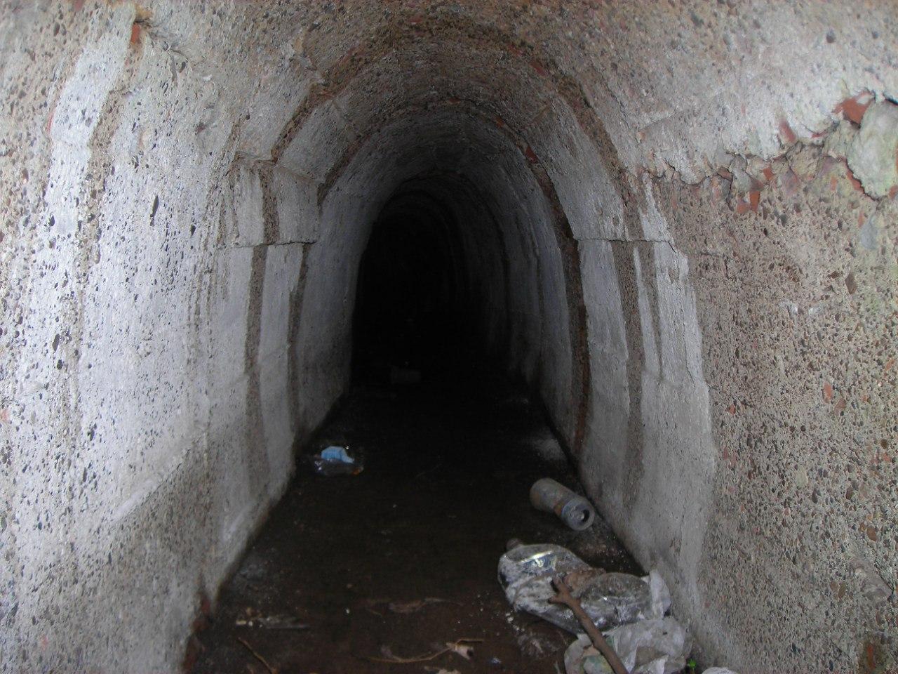 Участок дореволюционной ливнёвой канализации под улицей Куйбышева
