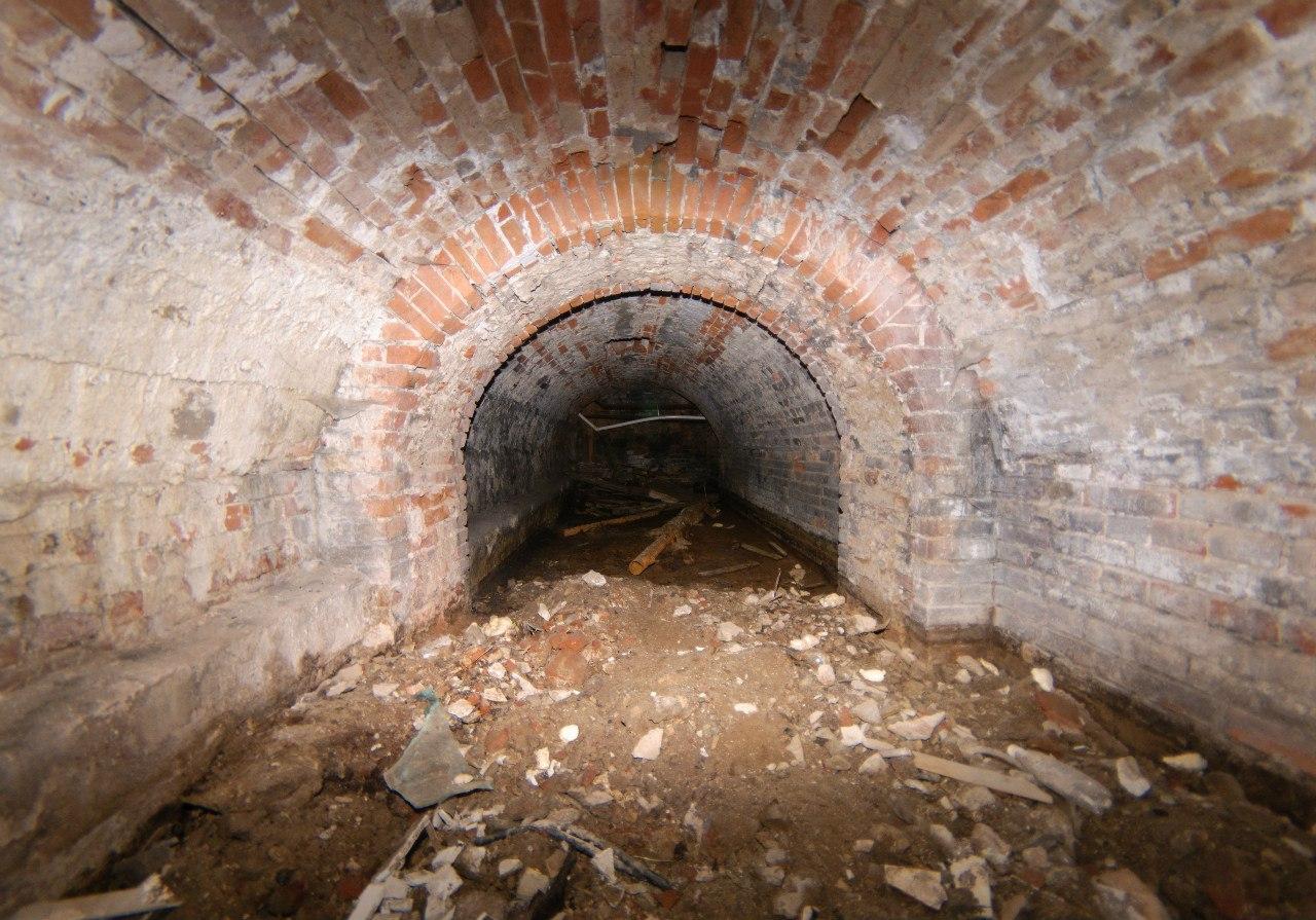 Фрагмент подземного хода в районе улицы Сибирской