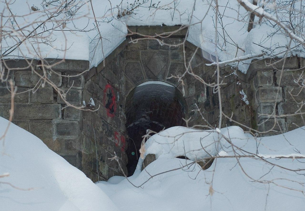 Система водоотведения бывшего Казённого спиртоочистительного завода
