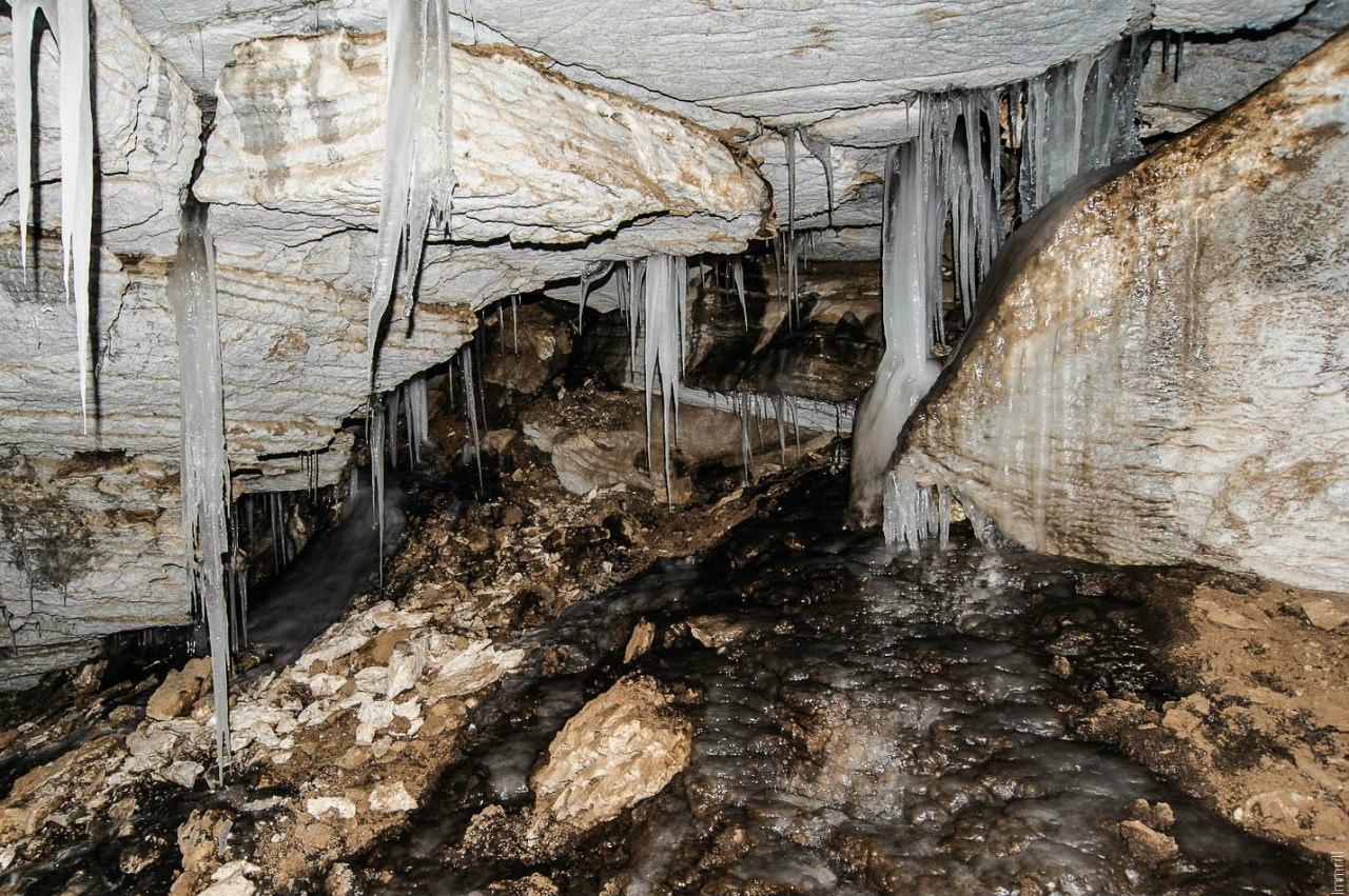 Первый грот Мечкинской пещеры