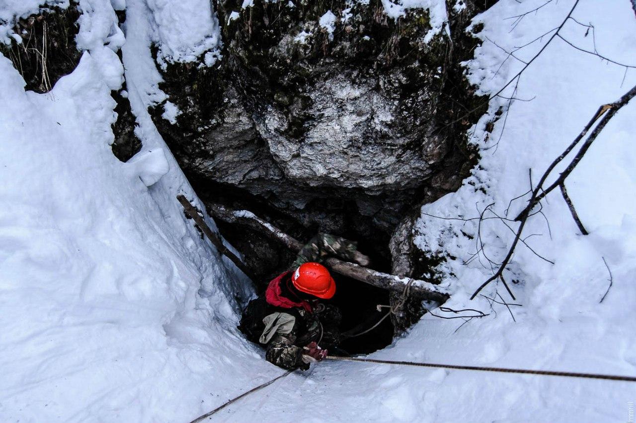 Подъем из пещеры