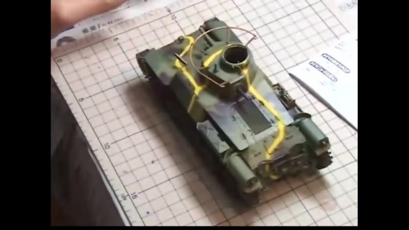 Plamo Tsukurou S3 Ep07 Tamiya Type 97 Chi Ha Tamiya Type 90 1 35