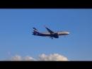 SVO Aeroflot A-320 landing
