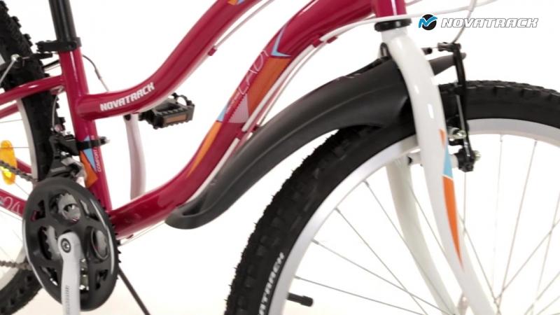 Велосипед Novatrack Lady 24 2016 в магазине игрушек Ярик76.рф