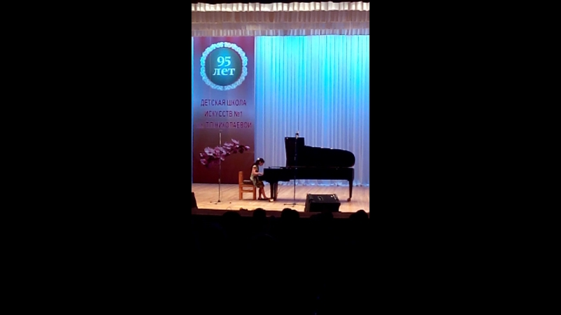 концерт в нашей муз.школе Саакян Инна 5 кл.