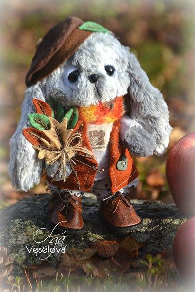 Осенний зайка. (7 фото) - картинка