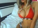 Ailine ∞ Web model sex girl hot slut big tits big ass nice legs solo Модель в топике и трусиках большие сиськи и попка секс