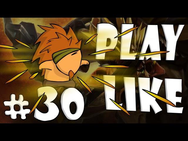 30 Play like Bristleback (Dota 2 Animation)