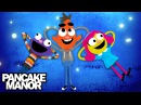Blue Song | Colors for Kids | Pancake Manor