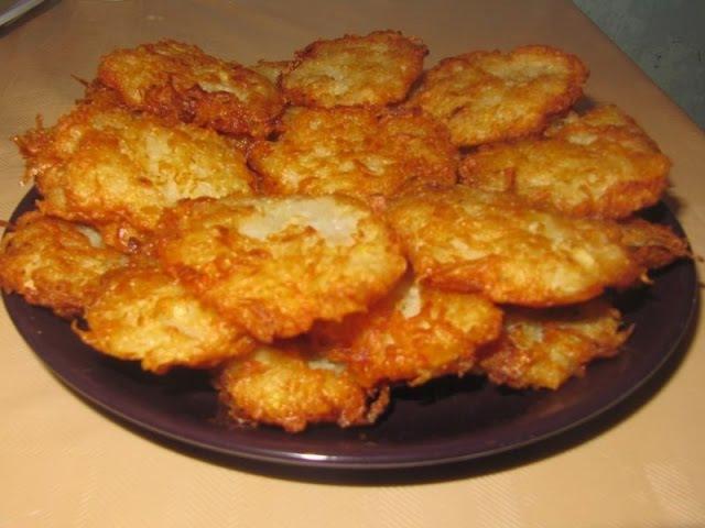 Драники из картошки Пошаговый рецепт