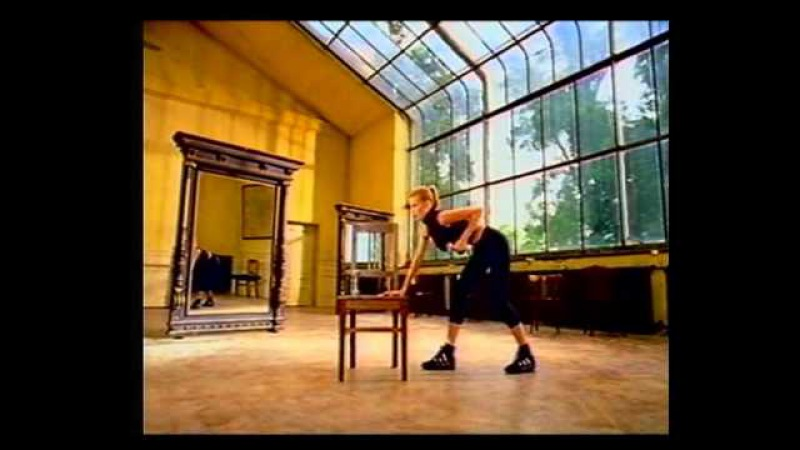 Claudia Schiffer (Клаудиа Шиффер) - Суперфитнес с переводом