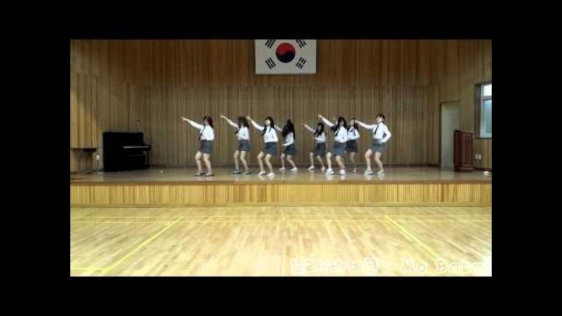 광주여고 댄스팀의 경운기춤! 개 잘춤(BGM:Bobby Moon-Ma Baby)