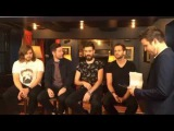 Interview with Bastille at the Gramercy Park Hotel @spg