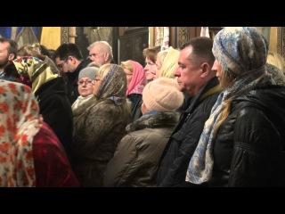 Рождественское богослужение 2016 церкви Святой Троицы  в Афинах